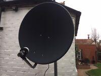 Motorised Satellite Dish & HDMI Receiver