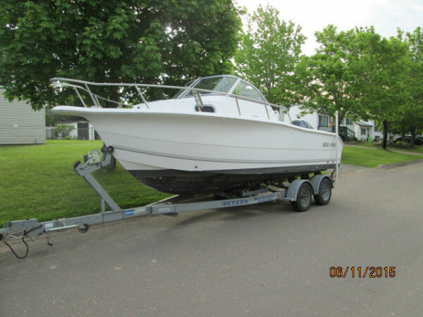 Used 2003 Seaswirl SEA PRO 22WA SPORT FISHER
