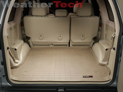 WeatherTech Cargo Liner Trunk Mat for Toyota Land Cruiser/Lexus GX 470 - Tan ()