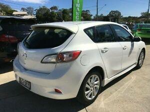 2012 Mazda 3 BL10F2 MY13 MAXX ACTIVEMATIC SPO White Semi Auto Hatchback Southport Gold Coast City Preview