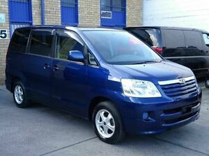 2002 Toyota Townace NOAH Welcab G Edition - Detachable Ch Blue 5 Speed Tiptronic Wagon Taren Point Sutherland Area Preview