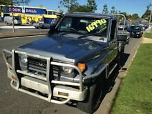 1997 Toyota Landcruiser HZJ75RP (4x4) Grey 5 Speed Manual Cab Chassis Greenslopes Brisbane South West Preview
