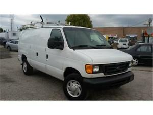 2007 Ford E-350, Cargo van, Roof rack, Shelving units inside, AC