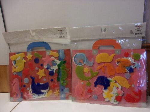 Gel Window 59 pc. Sticker Clings Decorations Sea Ocean Shark Fish Shell Star #18