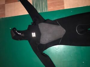 Billabong 5/4 Winter Wetsuit Size Medium Tall