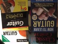Lot of 4 books for learning guitar