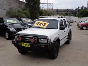 2006 Ford Courier PH XLT (4x4) White 5 Speed Manual Crewcab Holroyd Parramatta Area Preview
