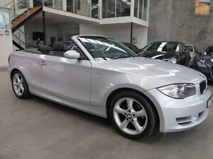 2009 BMW 120I E88 MY09  6 Speed Automatic Convertible Essendon Moonee Valley Preview