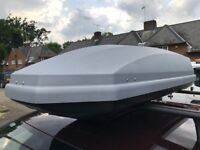 Halfords (Thule made) 360l roof box