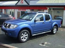 2013 Nissan Navara Tekna Dci 2.5 188 Bhp 6sp Double Cab PickUp 4x4 Only 1 Owner