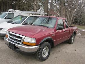 2000 Ford Ranger XLT|EXTENDED CAB|NEW TIRES