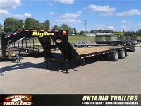 2016 BIG TEX 22GN HD Tandem Dually 25 ft  23500 LB GVWR