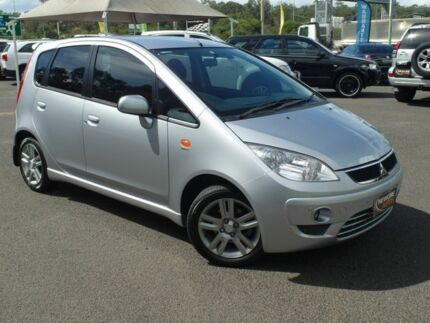 2010 Mitsubishi Colt RG MY08 VR-X Silver Continuous Variable Hatchback Wacol Brisbane South West Preview