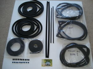 ESCORT MK2 RS FULL WEATHER SEAL KIT rs2000 rs1800 mexico sport rally car bda