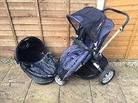 Quinny Buzz pushchair and carry cot