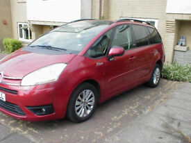 58 Reg Citroen C4 Grand Picasso in Great condition, Air Con, Cruise Control, 9 Months MOT, New Tyres