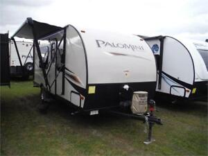 2018 Palomini 180FB Ultra Lite Travel Trailer- Only 3036LBS