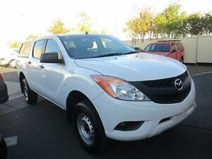 2013 Mazda BT-50 UP0YF1 XT 4x2 White Sports Automatic Utility Moorabbin Kingston Area Preview