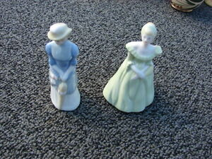 My Fair ladies porcelain -Rebecca and Belinda