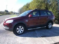 CHEVROLET CAPTIVA 2.0 LT VCDI 5d 148 BHP (red) 2008