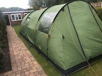 Vango Icarus 500 with canopy and footprint