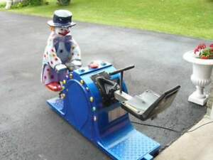 COIN OPERATED TEETER-TOTTER  ( LIGHTS AND MUSIC )