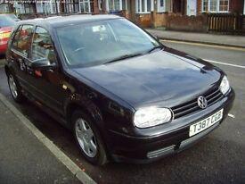 Volkswagen Golf MK4 2.0 ltr Petrol Black