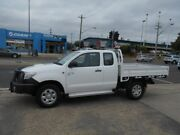 2012 Toyota Hilux KUN26R MY12 SR Xtra Cab White 5 Speed Manual Cab Chassis Fyshwick South Canberra Preview