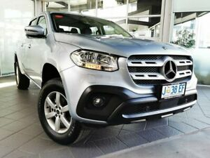 2020 Mercedes-Benz X-Class 470 X250d 4MATIC Progressive Silver 7 Speed Sports Automatic Utility