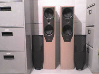 150W Mission M74i Stereo Speakers