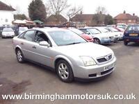 2003 (03 Reg) Vauxhall Vectra 1.8I 16V LS 5DR Hatchback SILVER