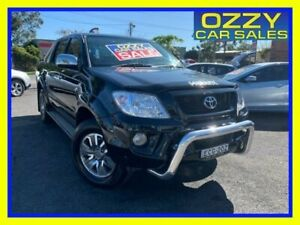 2009 TRD Hilux 4000SL (4x4) GGN25R 08 Upgrade Black 5 Speed Automatic Dual Cab Pick-up Minto Campbelltown Area Preview