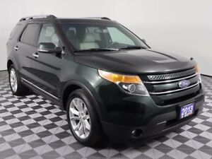 2013 Ford Explorer LIMITED/4WD/2ND ROW CAPTAIN CHAIRS/SUNROOF
