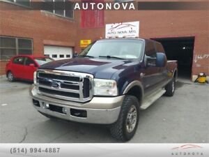 ***2006 FORD F-350***DIESEL/4PORTE/TRES PROPRE/514-999-4555.