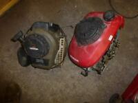 petrol mower engines honda briggs stratton