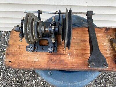 Rare Vintage Atlas 10501250 Wood Lathe Jackshaft Assembly Power King Craftsman