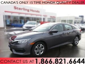 2017 Honda Civic Sedan LX | 1 OWNER | NO ACCIDENTS