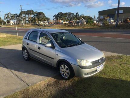2003 Holden Barina XC Silver 5 Speed Manual Hatchback