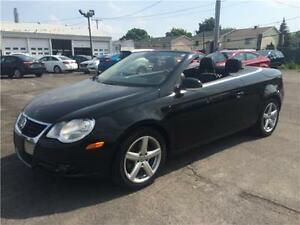 VOLKSWAGEN EOS 2007 CONVERTIBLE AUTO FULL AC MAGS CUIR TOIT