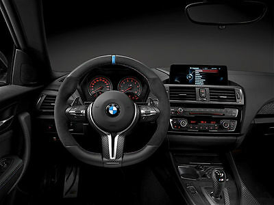 Genuine BMW M Performance Carbon/Alcantara Flat Bottom Steering Wheel M2 M3 M4