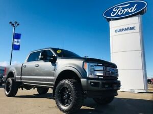 2017 Ford Super Duty F-350 SRW Platinum Ultimate, CUSTOM TRUCK,