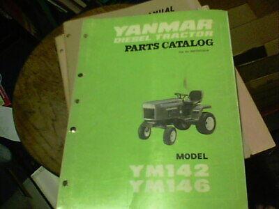 Yanmar Diesel Tractor Parts Catalog Model Ym142 And Ym146