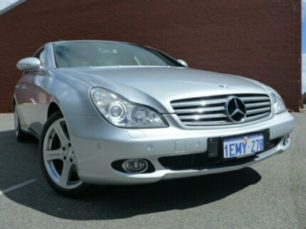 2005 Mercedes-Benz CLS500 WD219 Luxury Silver 7 Speed Automatic Sedan Alfred Cove Melville Area Preview