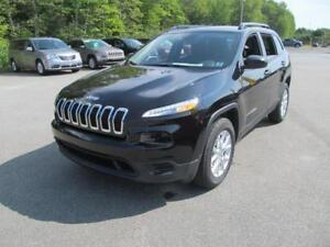 2018 Jeep Cherokee Sport Appearance Plus + 0%