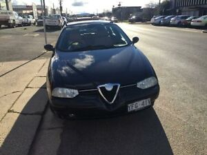2001 Alfa Romeo 156 MY2001 Sport Twin Spark Black 5 Speed Manual Wagon Fyshwick South Canberra Preview