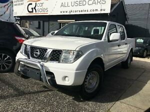 2012 Nissan Navara RX White Manual Utility Dandenong Greater Dandenong Preview
