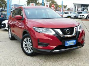 2017 Nissan X-Trail T32 Series 2 ST (4WD) Red Continuous Variable Wagon Belconnen Belconnen Area Preview