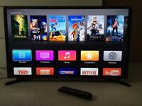 """Samsung 32"""" LED TV with remote"""