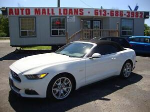 2015 Ford Mustang GT Convertible **50TH ANNIVERSARY EDITION***!!