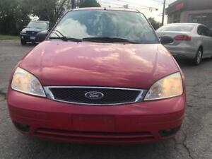 2005 Ford Focus SES,HTD SEATS ,PL,PW,AC,RADIO CERTIFIED